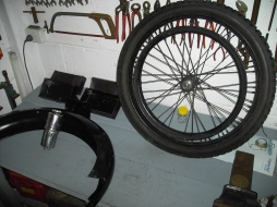 Back Wheel Guard and Gas Generator