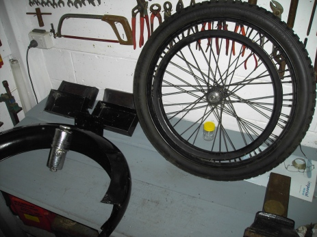Back Wheel Guard and Gas Generator
