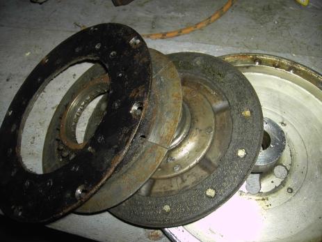 Flywheel Disassembled
