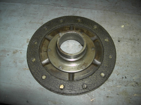 Flywheel Clutch Plate and Bearing Housing